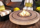 round fire pit table with modern granite table fir pit for outdoor propane gas fire pit
