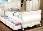 sleigh bed with storage drawers with white cherry wood sleigh bed in modern sleigh bed