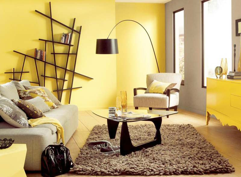 interesting sienna gray yellow living room ideas white