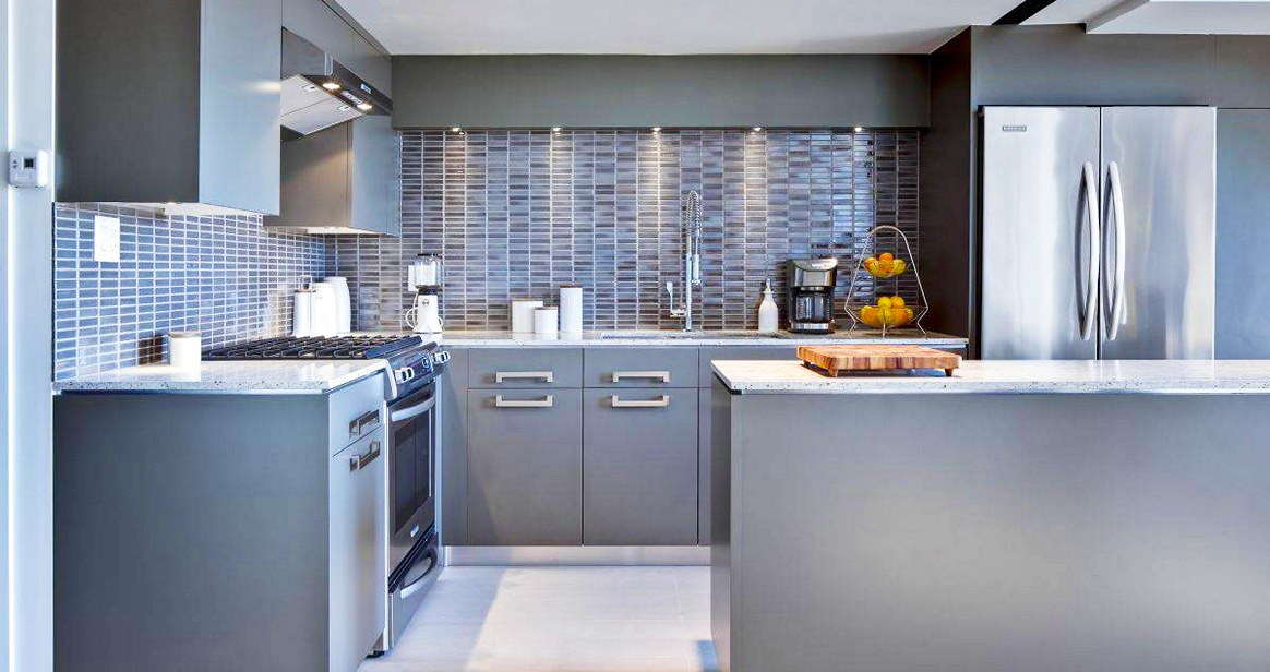Grey kitchen cabinets for outstanding kitchen with grey cabinet paint, light grey kitchen cabinets ideas, and grey and white kitchen cabinets