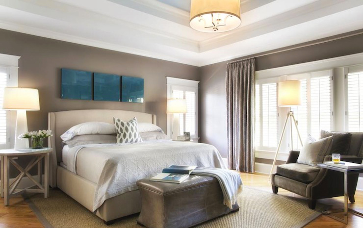 bedroom-ceiling-design-with-faux-tray-ceiling-ideas-for-modern-bedroom-decorations-with-hardwood-flooring