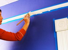 best-wall-painting-color-design-for-home-inteior-ideas-by-small-size-brush-painting-with-duct-tape