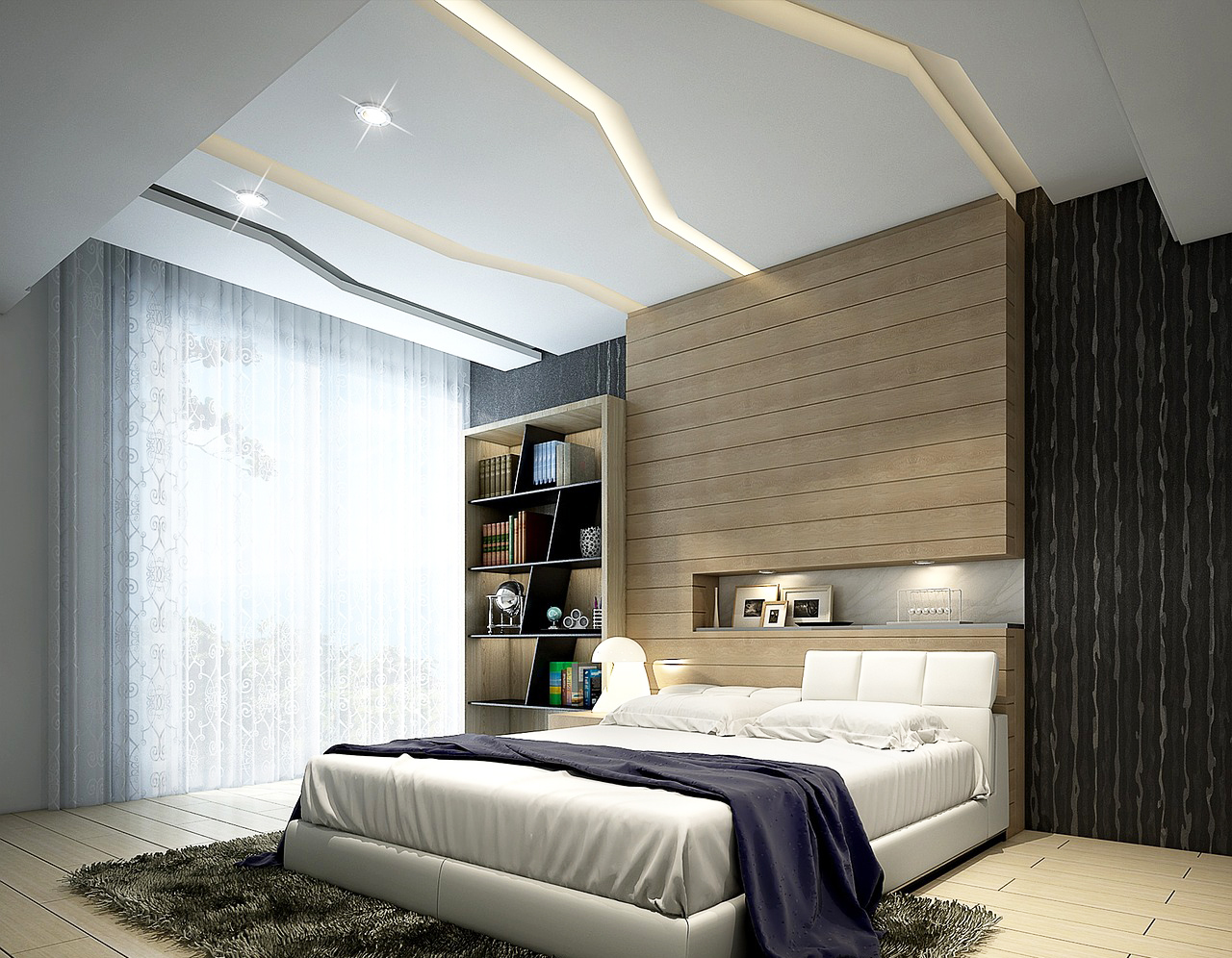 Bedroom Ceiling Design U2013 Creative Choices And Features With Ceiling Ideas  For Simple Bedroom Design And Modern Ceiling Decoration Ideas