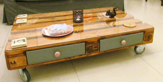 modern-pallet-coffee-table-with-storage-drawers-for-pallet-coffee-table-with-wheel-legs