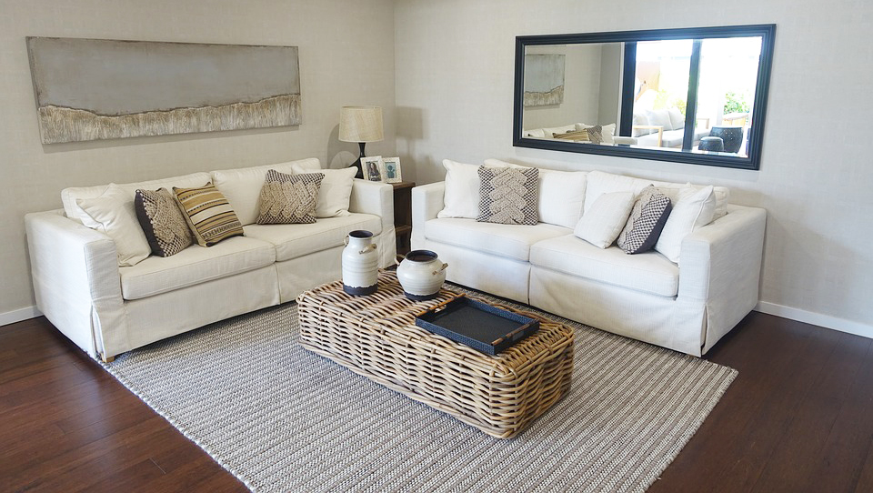 rattan-coffee-table-with-traditional-table-furniture-with-white-sofa-for-living-room-with-hardwood-flooring-and-grey-carpet