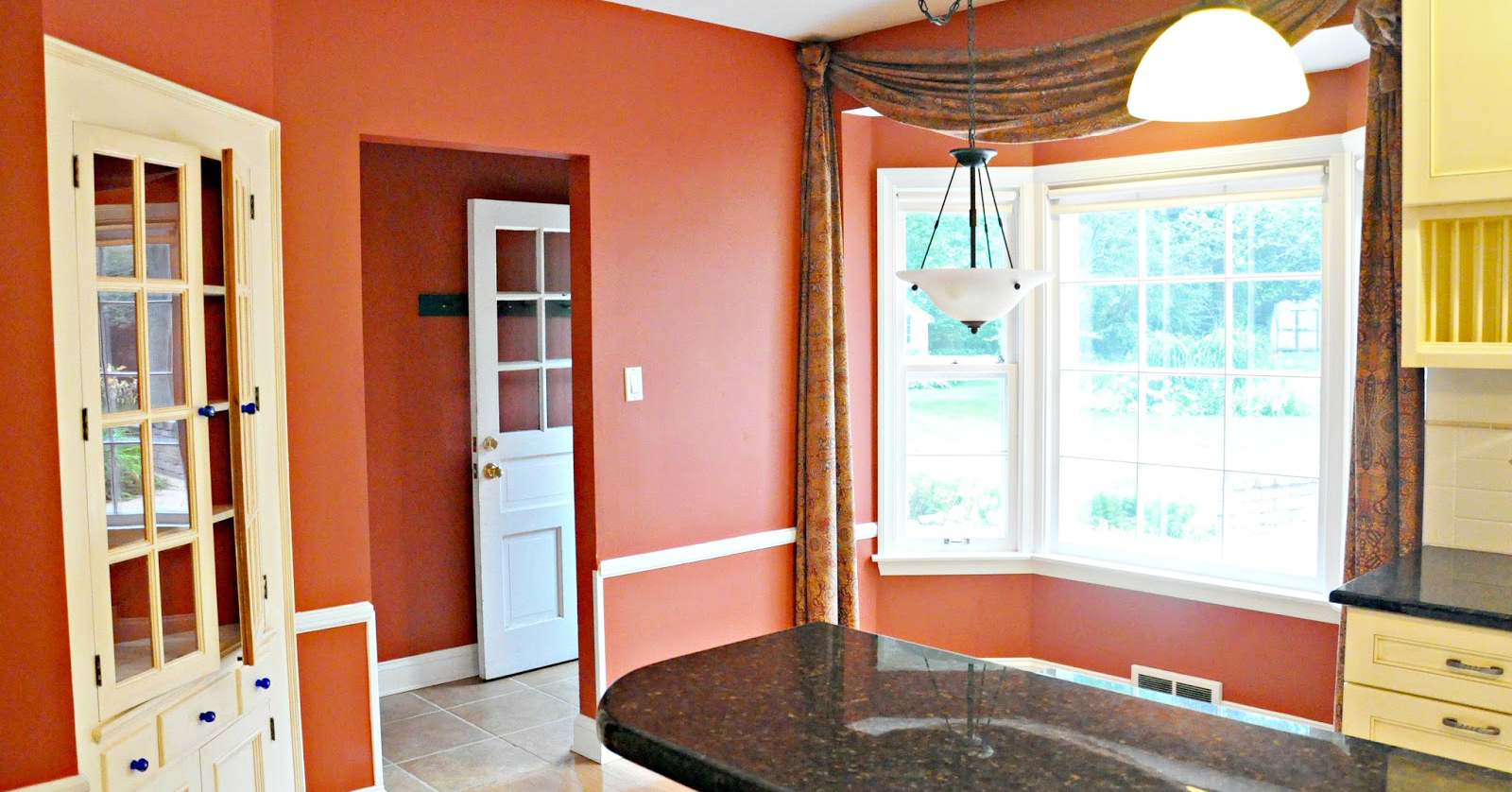 red matt wall paint finish for paint color ideas for kitchen