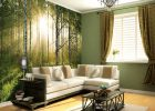 wall covering ideas with wall murals ideas for temporary wallpaper for living room with white sofa