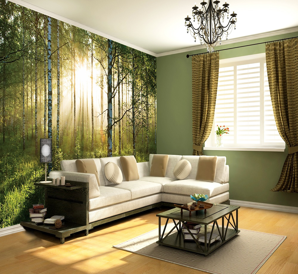 Wall covering ideas for living room for Lounge wall ideas