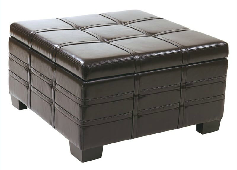 square-black-leather-coffee-table-with-storage