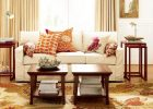 Beautiful Living Room Furniture Arrangement with living room furniture decorating ideas with wood end coffee tables sets with modern white sofa and flower pattern carpet flooring