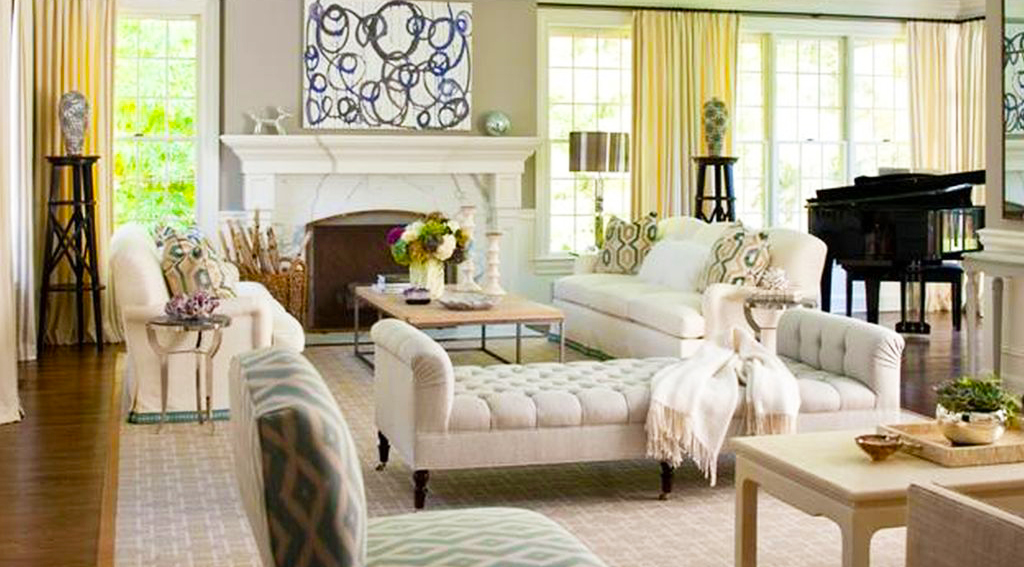 Living-Room-Furniture-Arrangement-Ideas-with-white-tufted-love-seat-and-wood-coffe-table-metal-legs-in-the-modern-living-room-home-furniture-decorating-ideas-mixing-hardwood-flooring