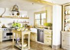 Top country kitchen designs remodeling ideas for small kitchen designs with small kitchen island design and white oak kitchen design pictures