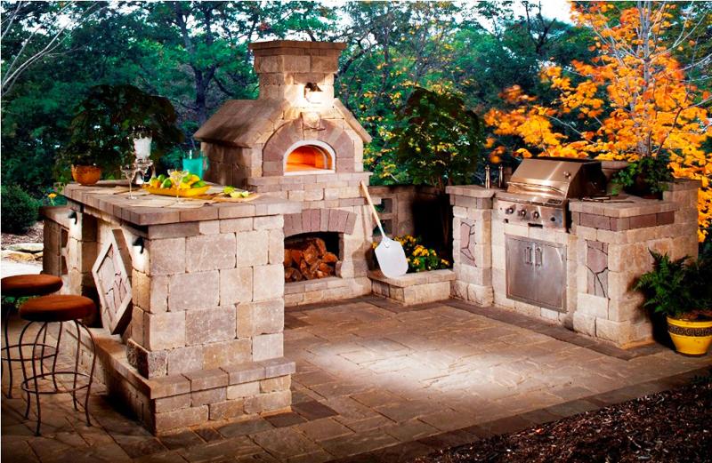 backyard-kitchen-designs-ideas-with-outdoor-kitchen-grills-with-outdoor-oven-stone-design-how-to-building-outdoor-kitchen-island