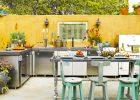 backyard kitchen designs with outdoor kitchen appliances for outdoor kitchen grills design in traditional outdoor kitchen design ideas