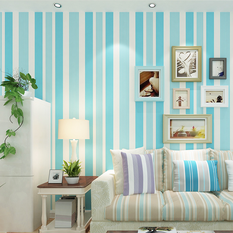 best-wallpaper-interior-design-for-living-room-wall-decorations-with-blue-wallpaper-color-with-modern-sofa-living-room
