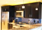 black kitchen cabinets doors refacing ideas for small kitchen design with diy custom shaker cabinets in modern kitchen style