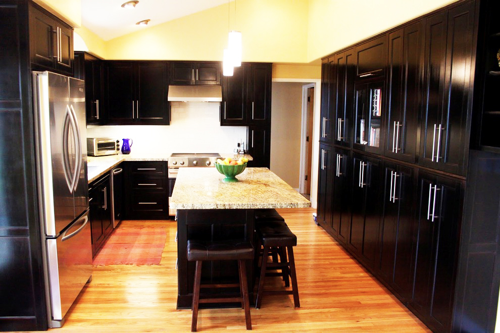 black-kitchen-cabinets-for-how-to-paint-kitchen-cabinets-doors-refacing-ideas-with-best-modern-shaker-kitchen-cabinets