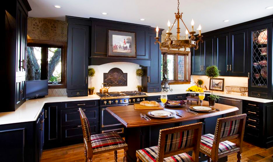 black-kitchen-cabinets-with-black-painting-kitchen-cabinet-door-refacing-into-modern-kitchen-cabinets