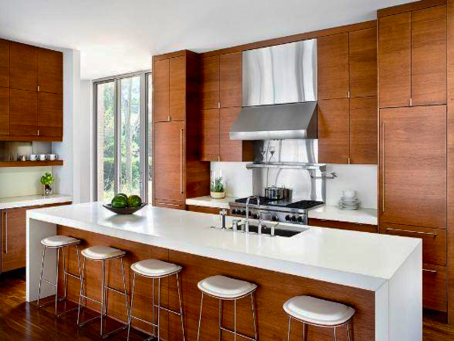 DIY Contemporary Kitchen Cabinets