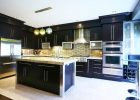contemporary kitchen cabinets remodel design ideas in black wood kitchen cabinets pictures
