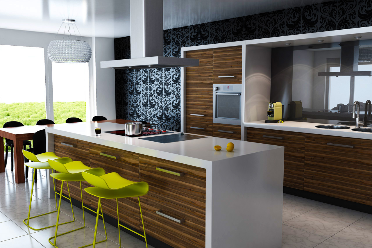 contemporary-kitchen-cabinets-with-wood-kitchen-cabinets-pictures-for-new-kitchen-cabinets-with-white-countertops