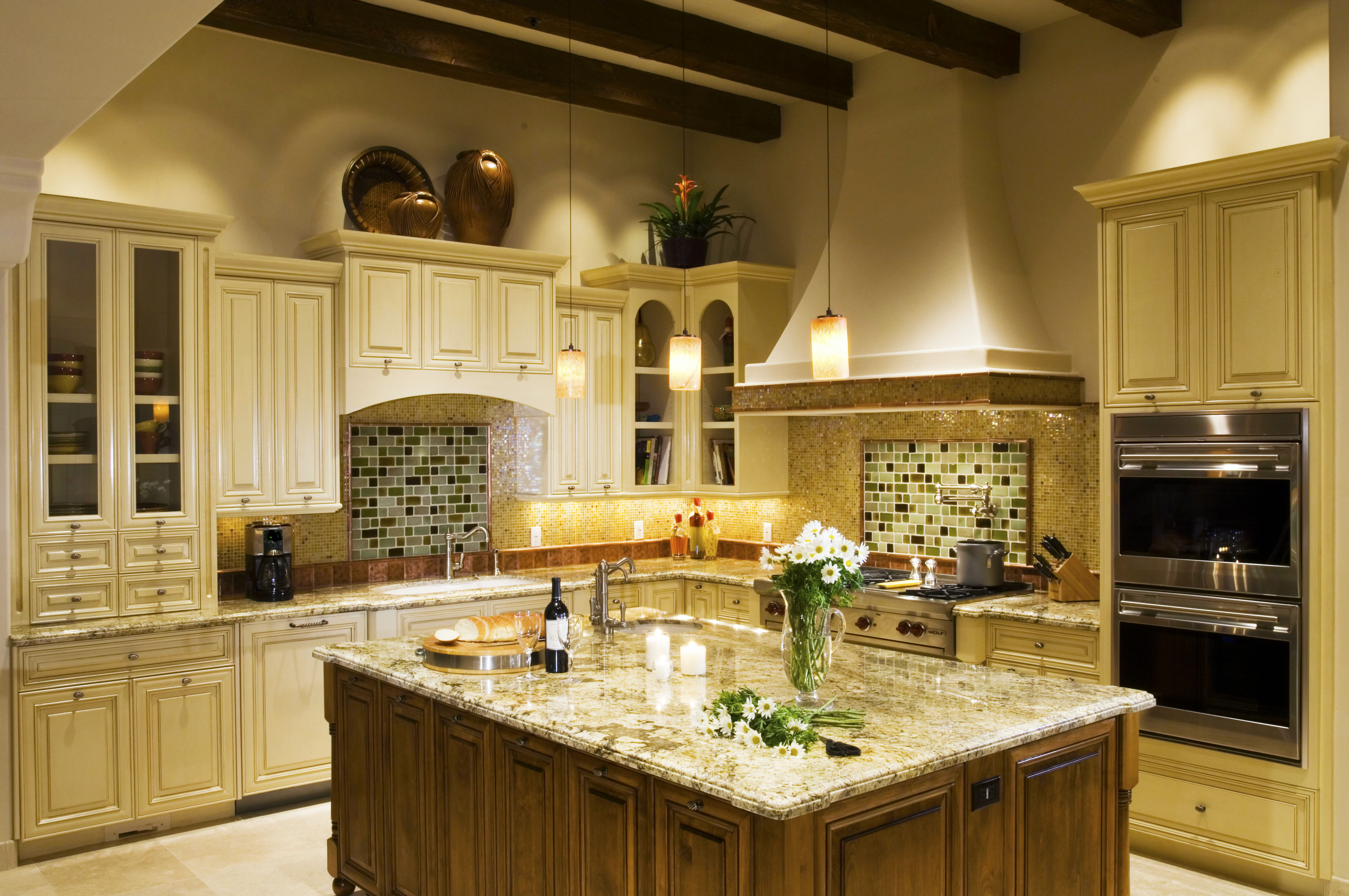 Cost to remodel kitchen backsplash designs roy home design for Normal kitchen design