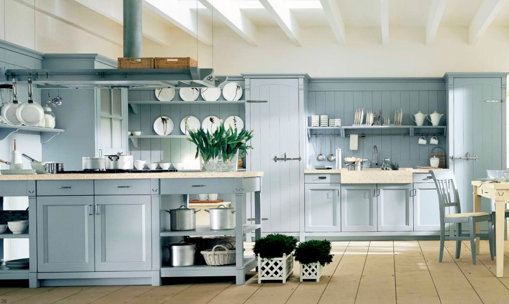 country-kitchen-design-ideas-for-light-blue-country-kitchen-with-oak-kitchen-cabinets-storage-for-new-kitchen-designs-with-large-kitcen-island-designs