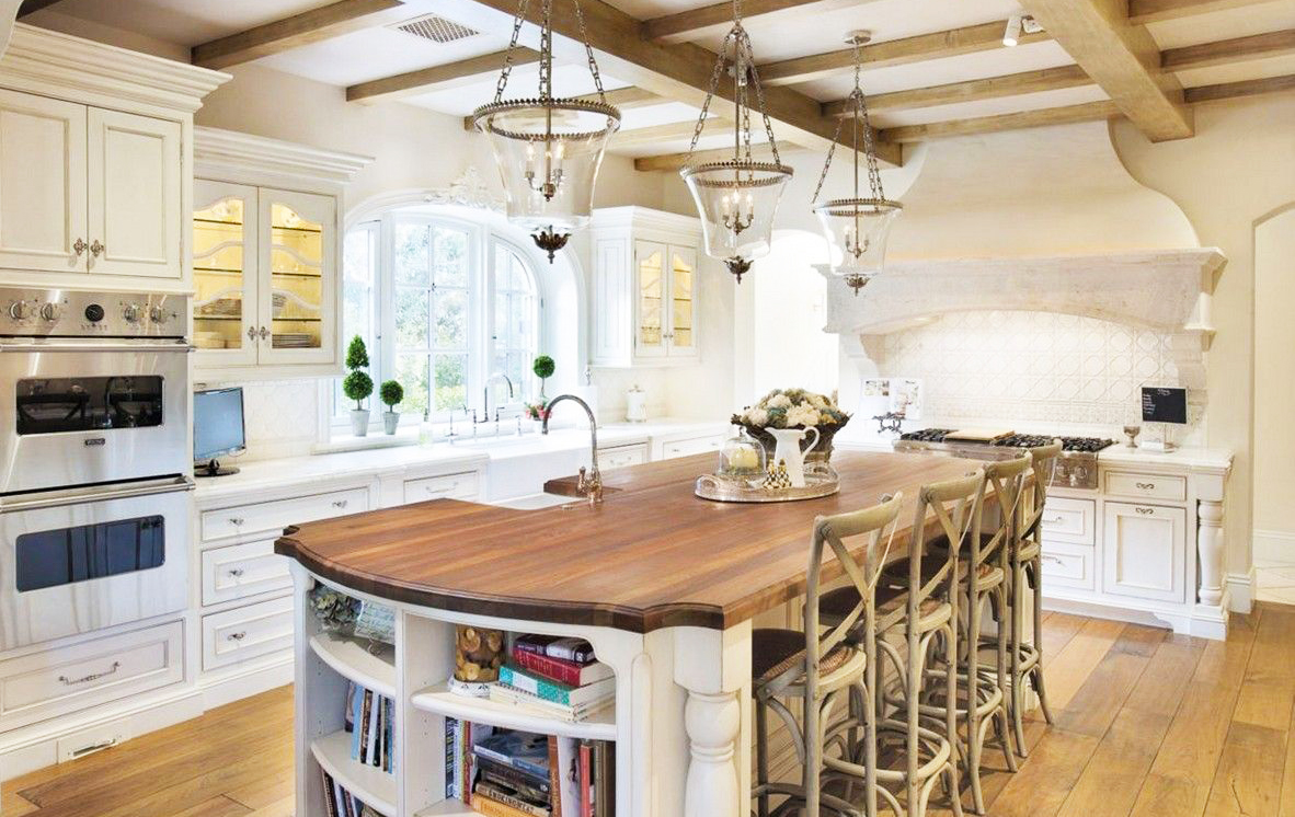 Country Kitchen Design In French Country Kitchen Decor