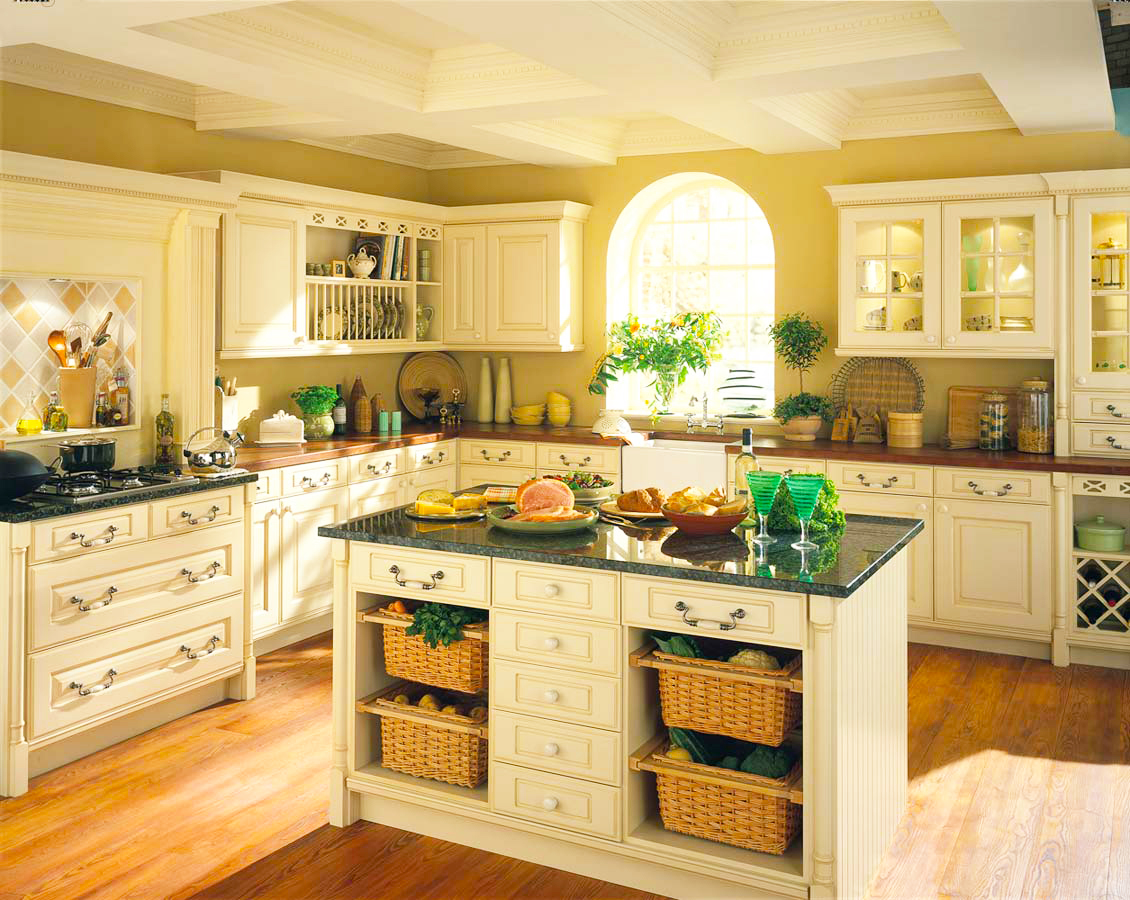 country-kitchen-design-pictures-with-white-oak-kitchen-cabinets-with-kitchen-island-ideas-for-new-gallery-kitchen-designs-ideas