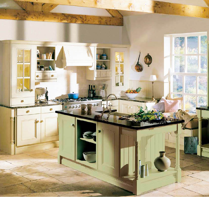 country kitchen design remodeling contractors for small kitchen - Country Kitchen Remodeling Ideas