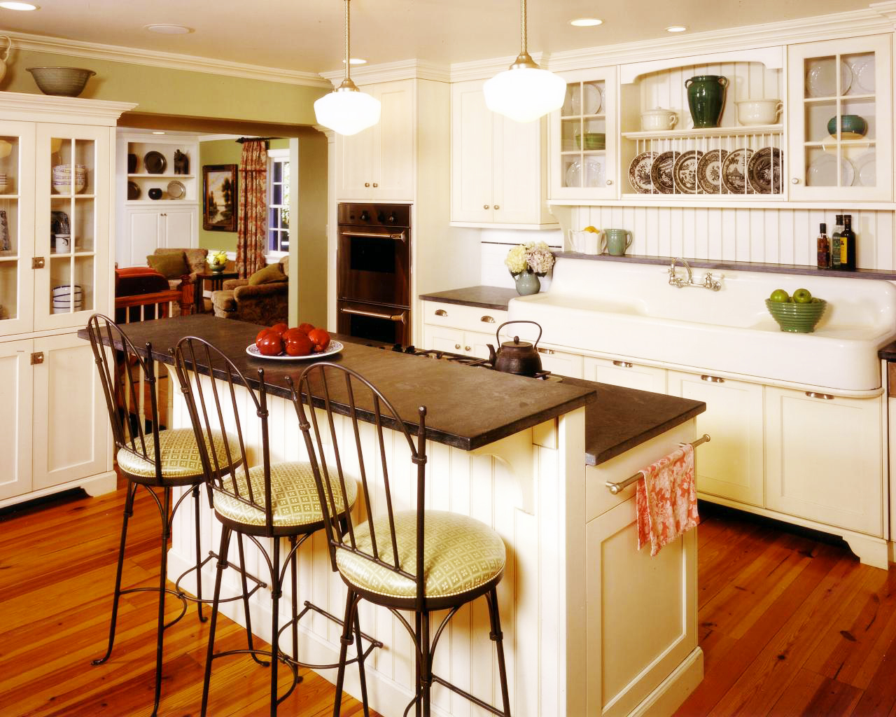 Best country kitchen design roy home design for Country kitchen house plans