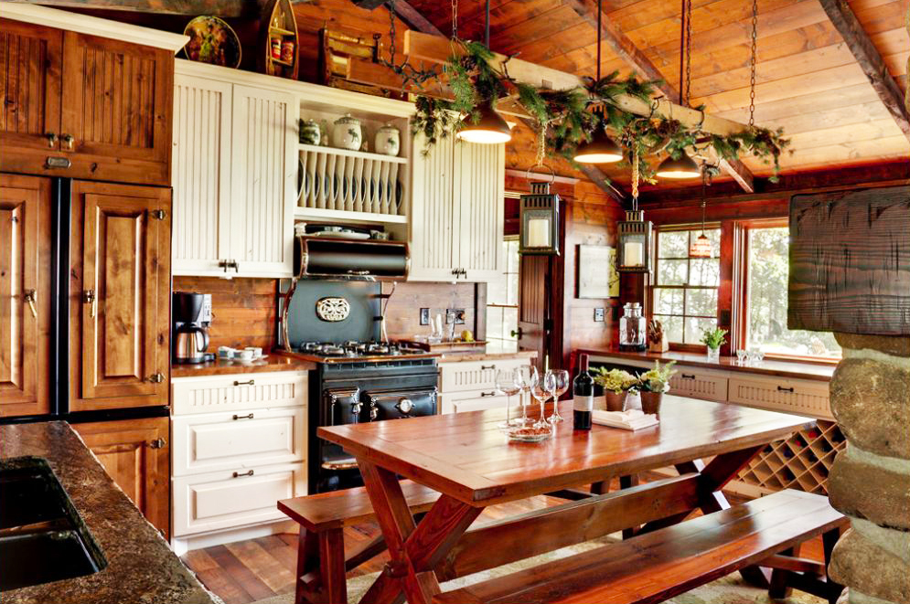 Country Kitchen Design With Design Rustic Kitchen Ideas For New