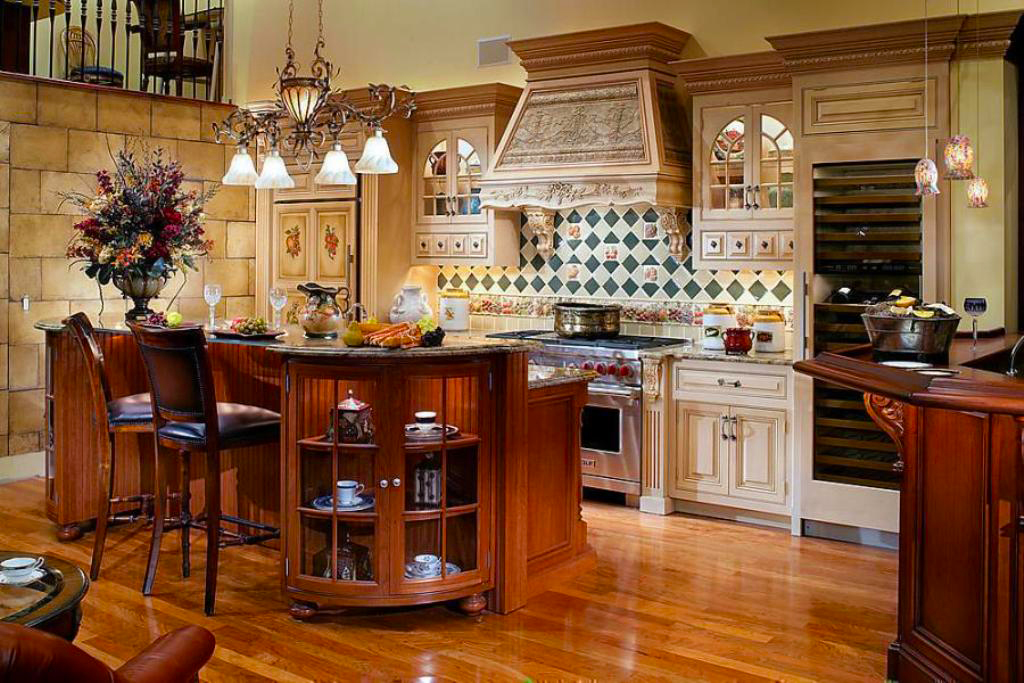 Cool country kitchen designs roy home design for Country kitchen home plans