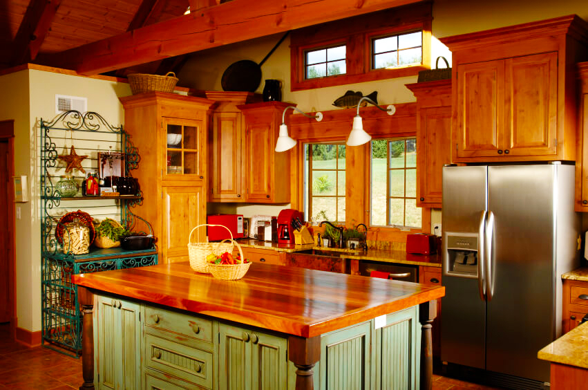 country-kitchen-designs-ideas-for-small-kitchen-design-ideas-with-wooden-modern-kitchen-cabinet-designs-and-wooden-kitchen-island-countertop