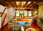 country kitchen designs ideas for small kitchen remodeling ideas with pendant lights and wooden kitchen island