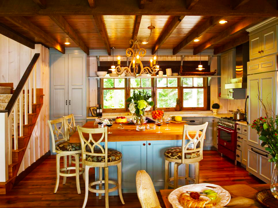 country-kitchen-designs-ideas-for-small-kitchen-remodeling-ideas-with-pendant-lights-and-wooden-kitchen-island