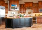 custom kitchen cabinets for new kitchen remodel design with black oak kitchen island and kitchen cabinet doors refacing