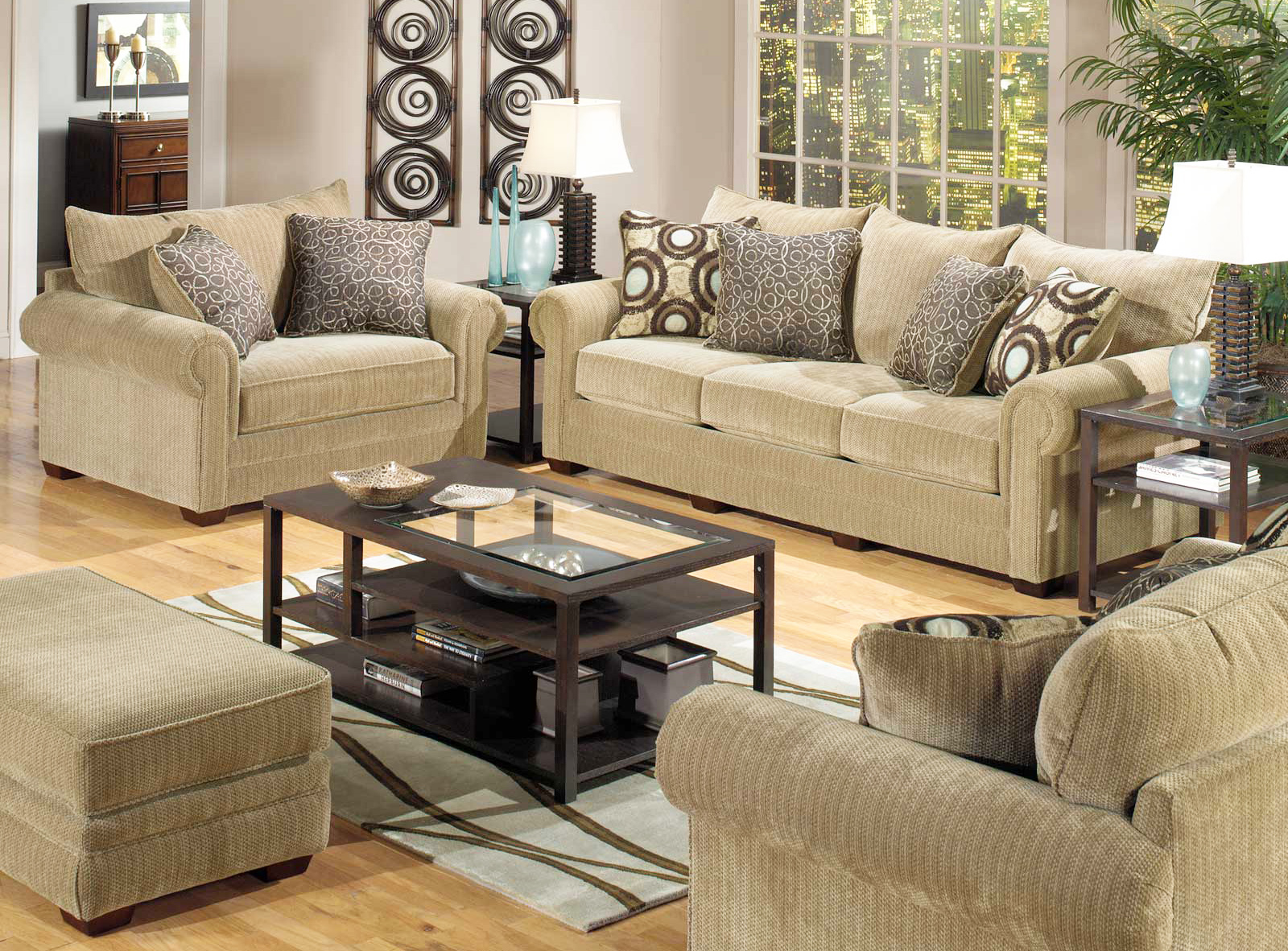 Three furniture arrangement tips that will make room looks bigger roy home design for Sofa designs for small living room