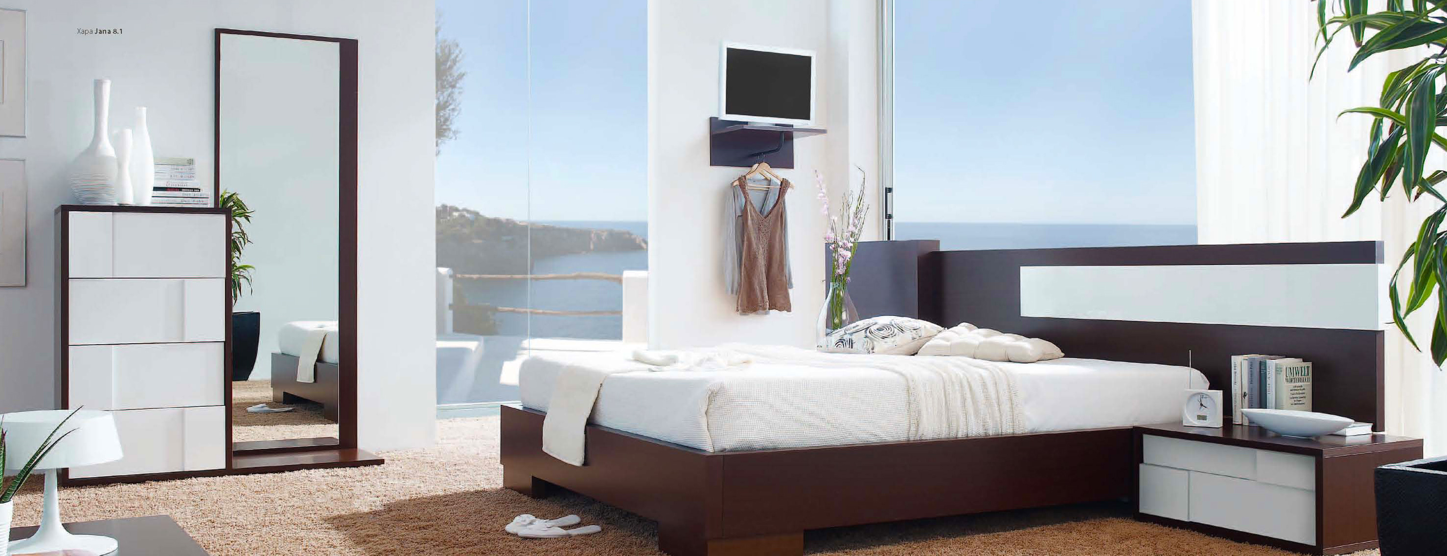 furniture-for-modern-house-contemporary-furniture-design-ideas-with-dark-brown-wooden-bed-frames-and-headboard-also-brown-carpet-flooring