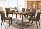 furniture for modern house in home dining room furniture sets with four dining room chairs and modern wood dining table