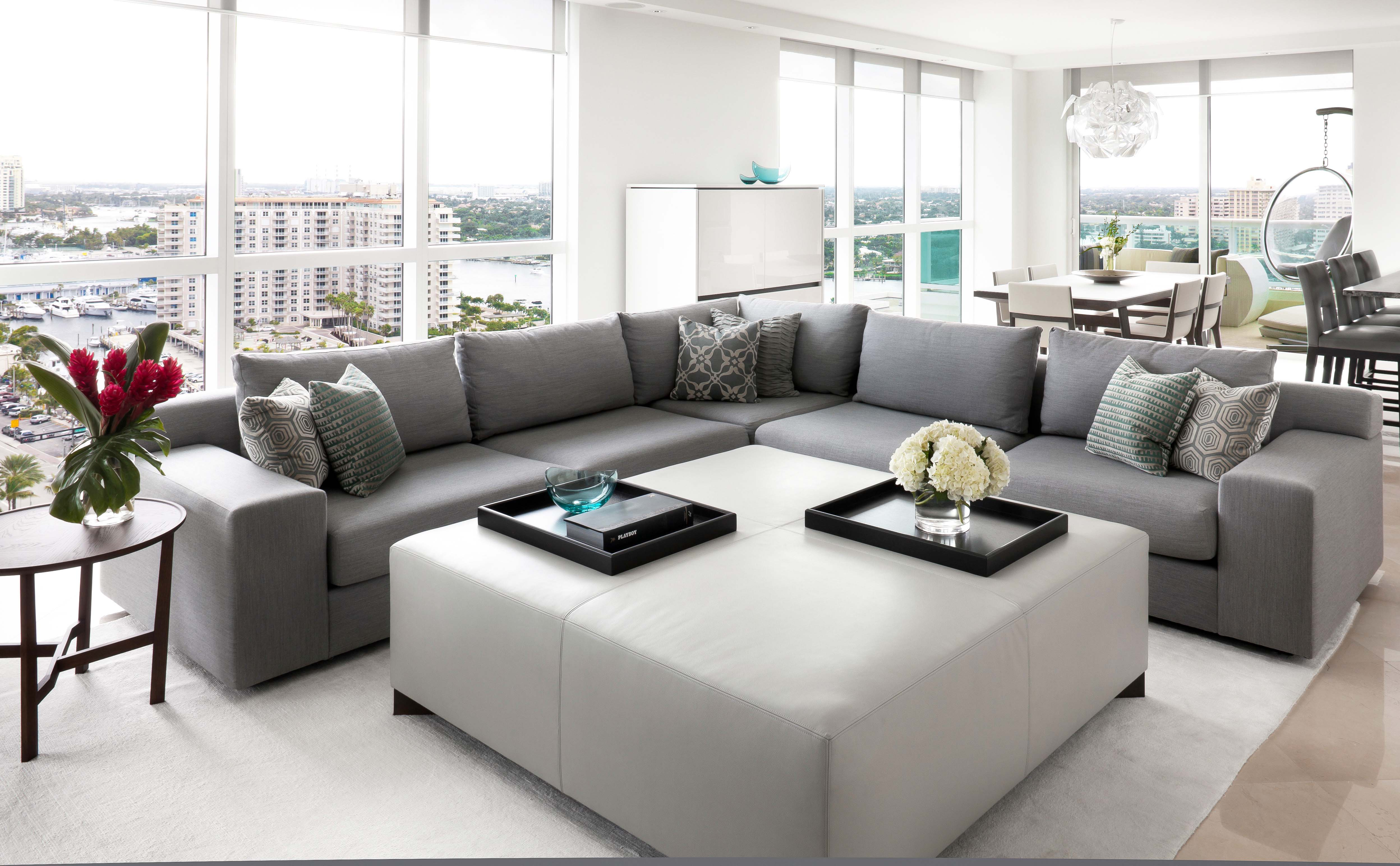 furniture-for-modern-house-with-neutral-color-schemes-in-modern-grey-sectional-sofa-for-living-room-furniture-also-large-square-fabric-coffee-table-with-rug-area
