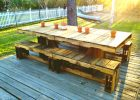 furniture ideas from wood pallet project ideas for rustic pallet grand dining table with benches with rustic decor dining table from wood pallet furniture ideas