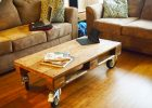 furniture ideas from wood pallet project ideas how to make wood rolling coffee table with wheels for pallet living room furnitures