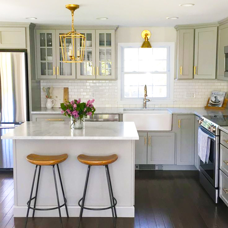 Creative Ideas For Small Kitchens Designs