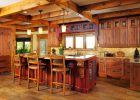 italian kitchen design ideas for Rustic italian Galley Kitchens design layout pictures from wooden italian kitchen cabinet designs with traditional kitchen island designs