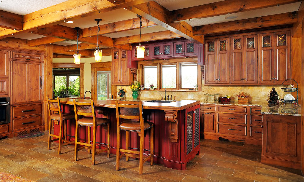 Italian Kitchen Design Ideas For Rustic Italian Galley