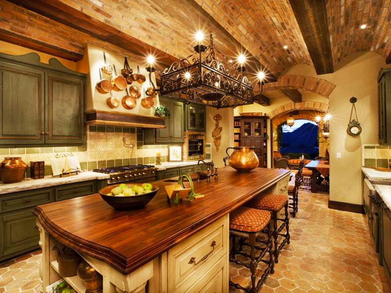 italian-kitchen-design-ideas-pictures-with-rustic-luxury-italian-kitchen-designs-ideas-and-wooden-italian-kitchen-island-design-with-pendant-lights-italian-style-kitchen-decor
