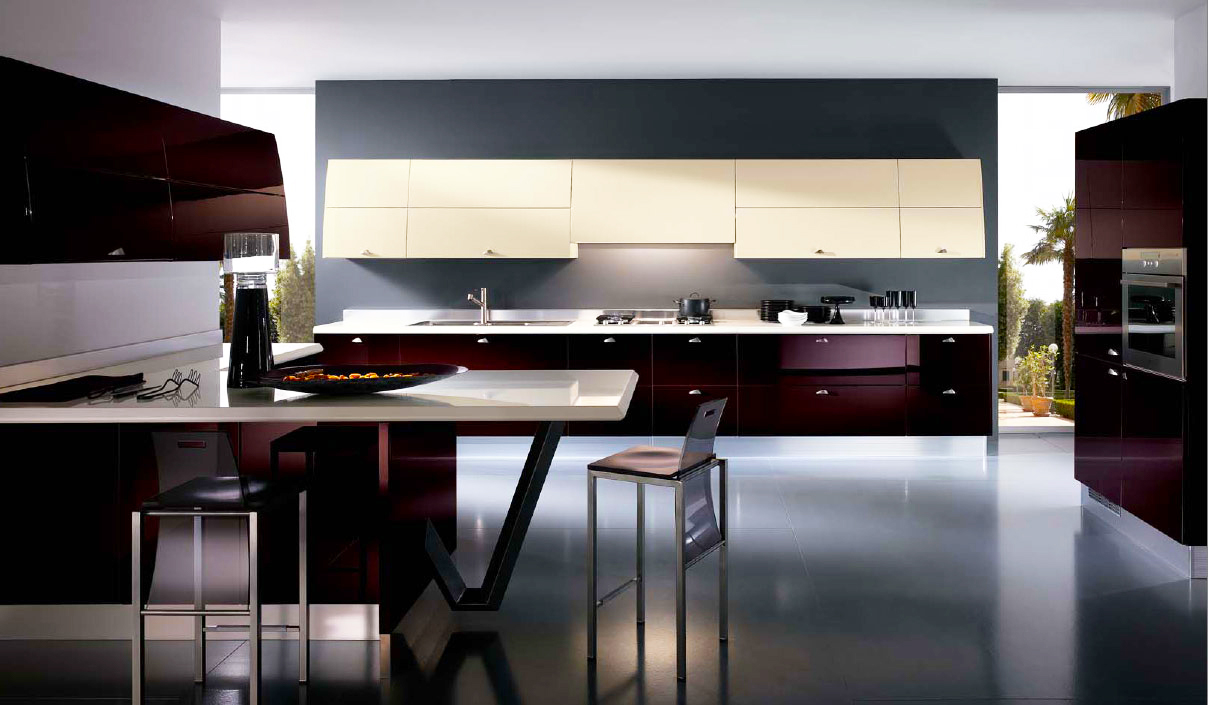 italian-kitchen-design-with-dark-red-italian-kitchen-design-pictures-in-best-modern-kitchen-design-layout