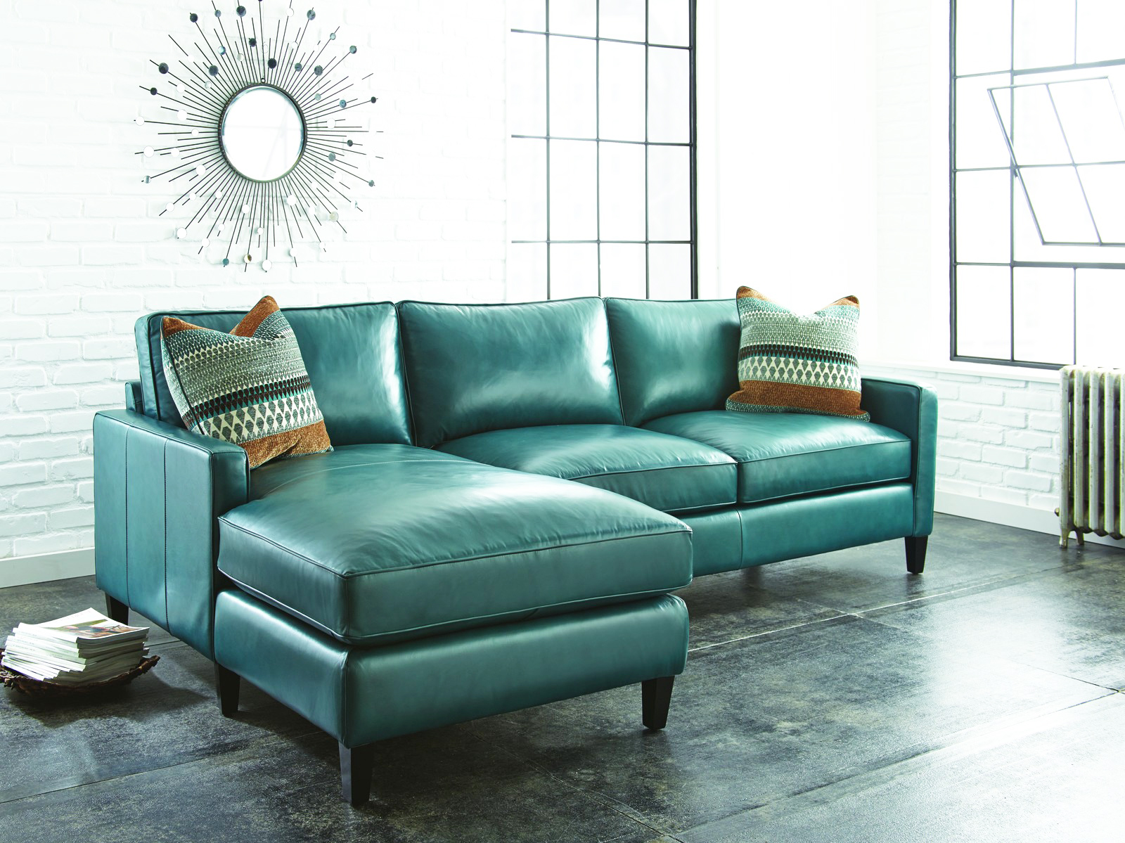 top three benefits of decorating your living room with leather