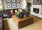 leather furniture ottoman for luxury living room furniture sets ideas